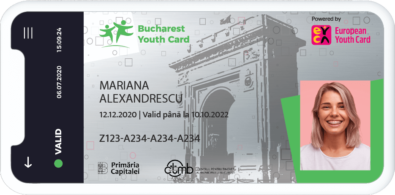 card virtual Bucharest Youth Card